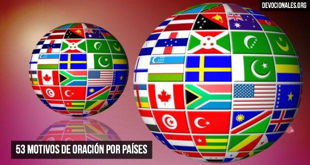 53 Motivos de Oración Por Países para Misiones y Misioneros
