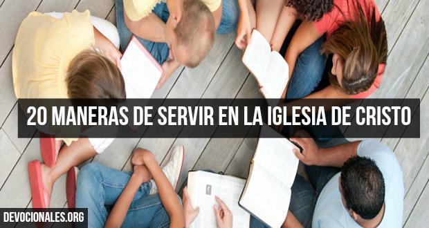 maneras-de-servir-iglesia-senor-cristiana