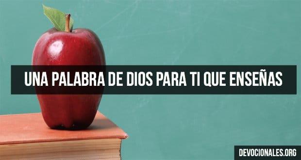 Una Palabra De Dios Para Los Que Enseñan Biblia Cristianos