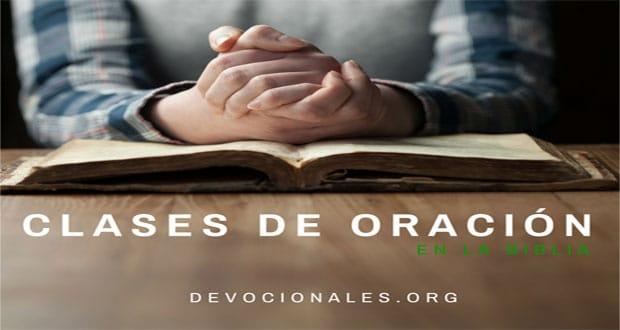 Clases de Oración