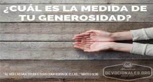 La Generosidad y la Biblia
