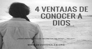 4 Beneficios De Conocer a Dios