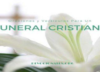 Versículos Y Oraciones Para Un Funeral