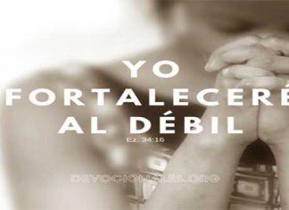 Yo Fortaleceré Al Débil - Ezequiel 34:16