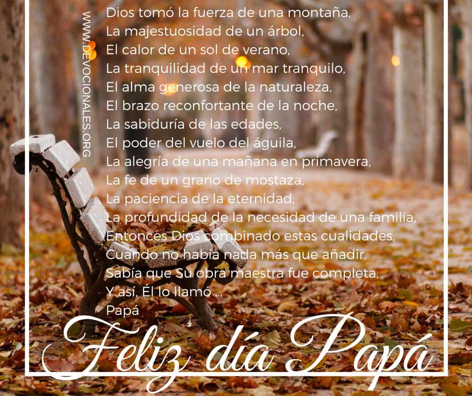 Poema Por El Día del Padre