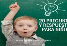 Preguntas Y Respuestas Para Niños