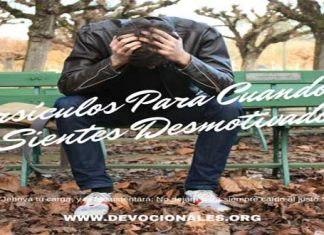Versículos Bíblicos Contra el Desanimo