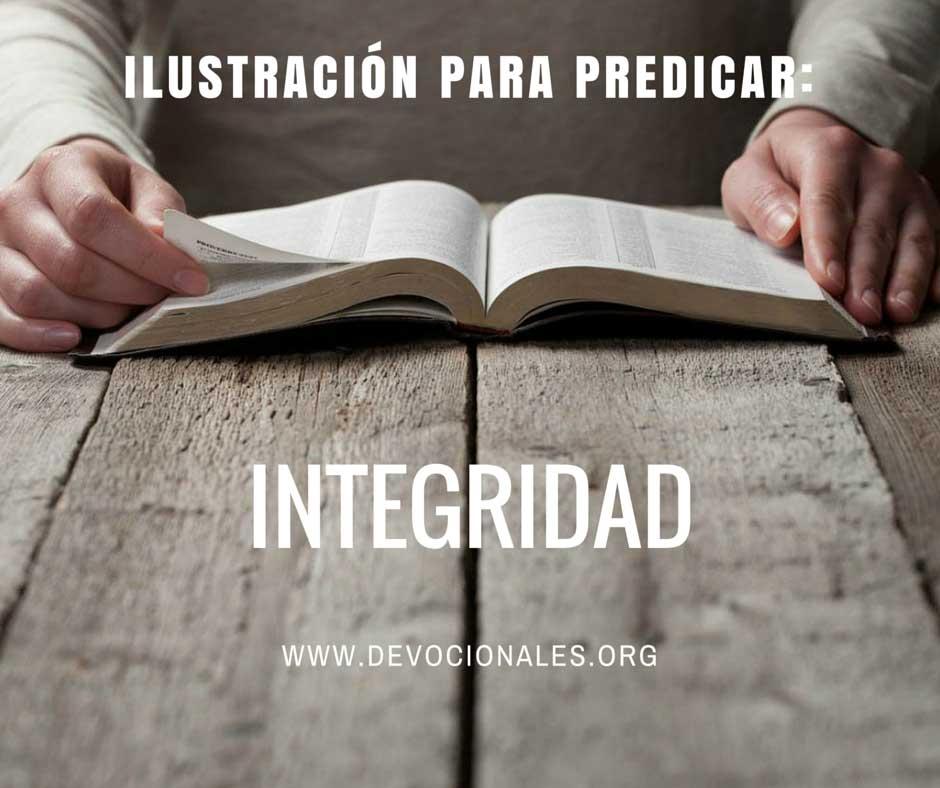 Ilustración Para Predicar Sobre Integridad