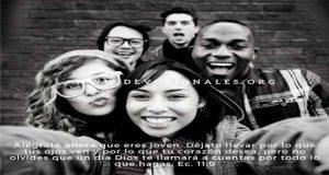 Versículos para Jóvenes Cristianos