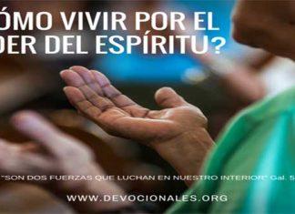 Vivir Por El Espíritu Santo