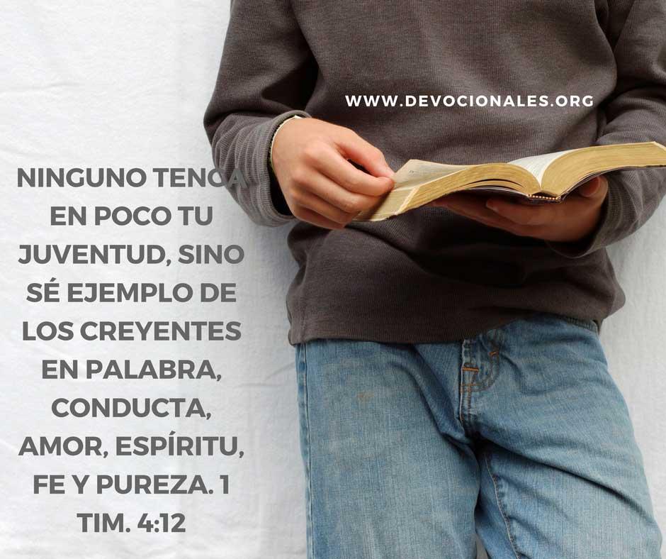 Versículos Bíblicos Para Animar A Los Jóvenes Cristianos