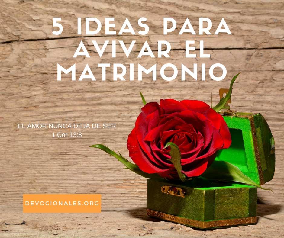 Ideas para el Matrimonio