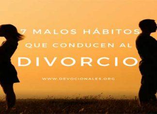 Divorcio Malos Hábitos Y Causas