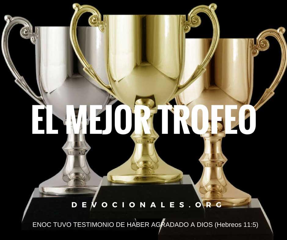 Trofeo el mejor y mayor de todos