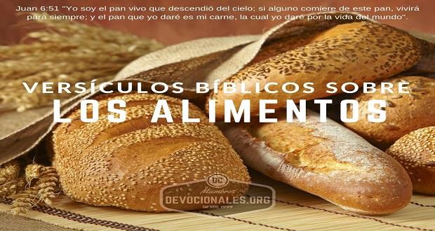 6 Versículos Bíblicos Importantes Sobre Los Alimentos