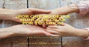 no-dejar-orar-hijos-biblia