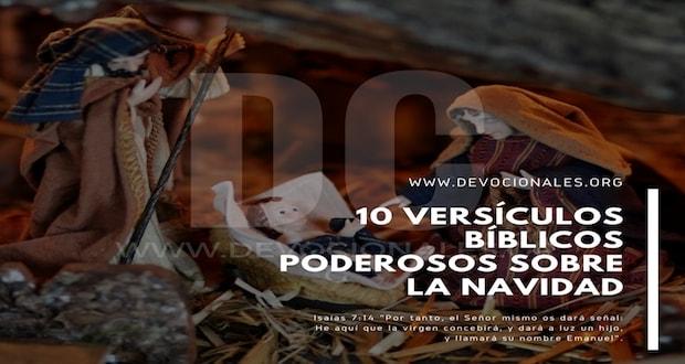 10 Versículos Bíblicos Poderosos Sobre La Navidad Cristiana