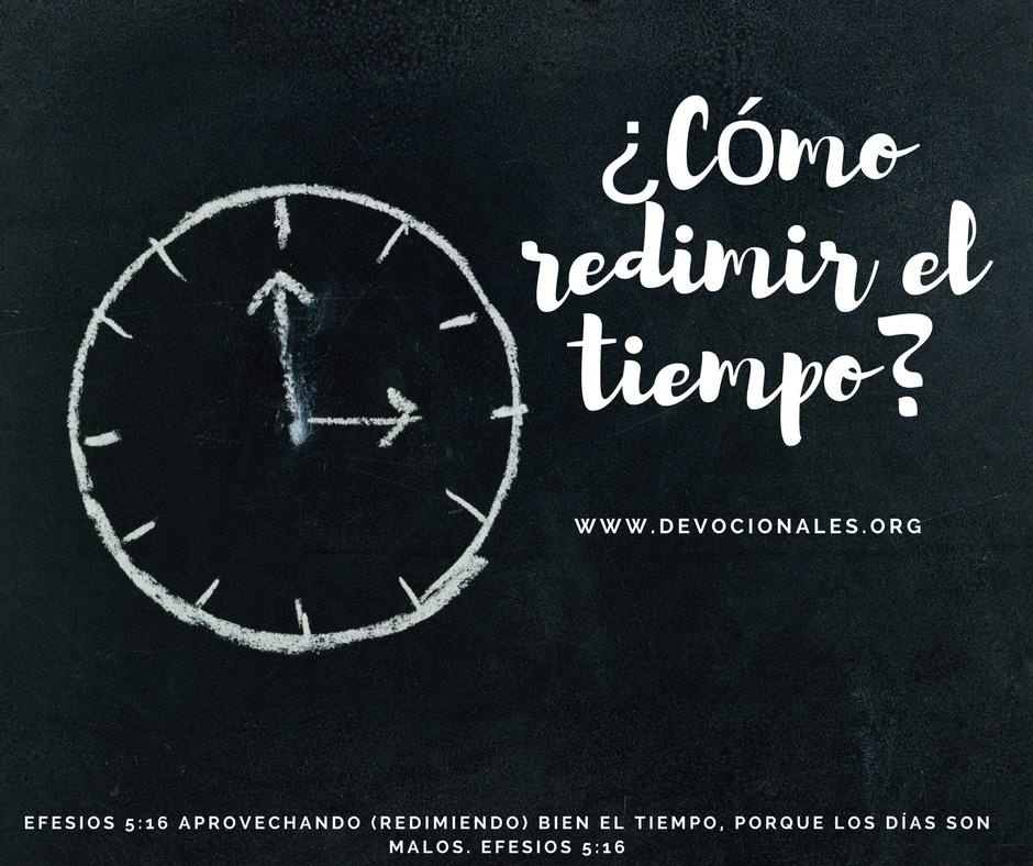 aprovechar-tiempo-biblia
