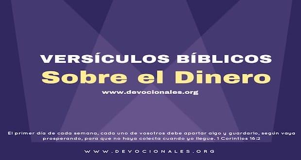 Versículos Bíblicos Sobre El Dinero Que Dice La Biblia