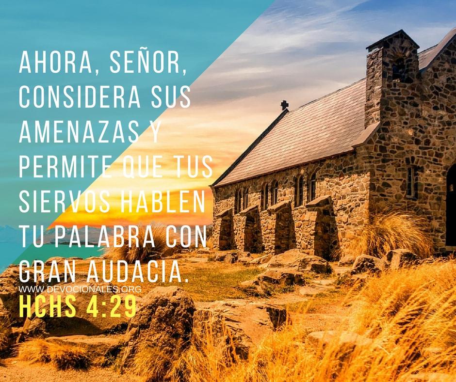 Hechos 4:29