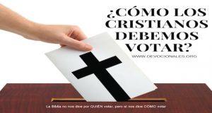 cristianos-votar