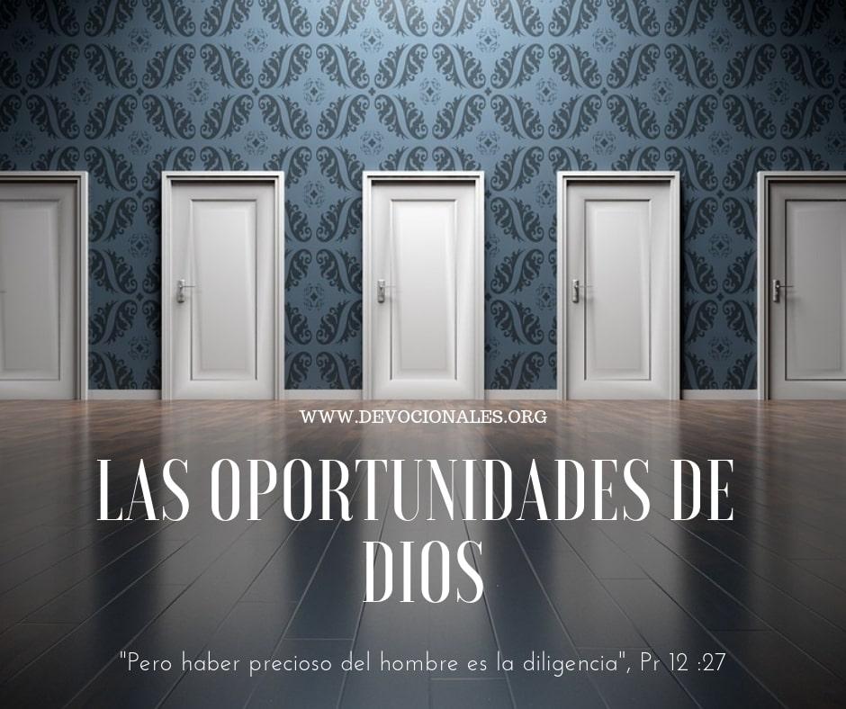 Dios-oportunidades